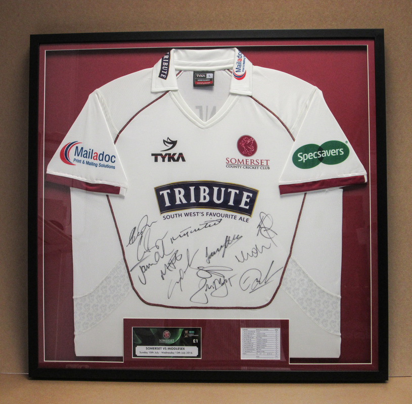 Football Shirt Framing|Sporting Memorabilia Framing - Torrington framing
